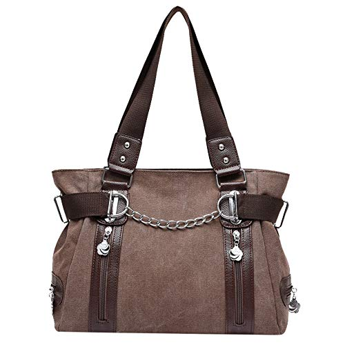 - Shopper Bag for Women Leather Tote Handbag Designer Shopping Shoulder Bags Large Purse
