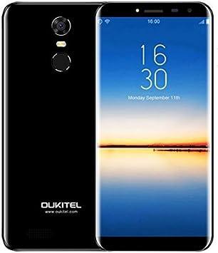 OUKITEL C8 4G - 5,5 Pulgadas (18: 9 relación visión Completa) Android 7.0 4G Smartphone, 3000mAh batería, 1,3 GHz Quad Core MTK6737 2GB+16GB, cámara de 5MP + 13MP, Huella Digital: Amazon.es: Electrónica