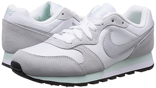 Silver Nike Platinum pure Scarpe Md Da fiberglass white Donna Corsa Multicolore Runner 2 metallic gqAawxOg