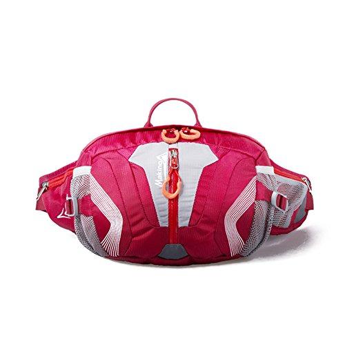 Freien Multifunktionstaschen Schulter / Camping Tasche Reit-rot