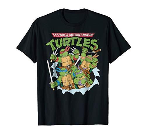 Teenage Mutant Ninja Turtles break through T-shirt ()
