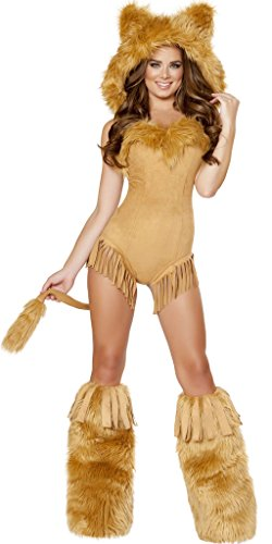 Musotica Nala Girl Halloween Costume - Honey - Large