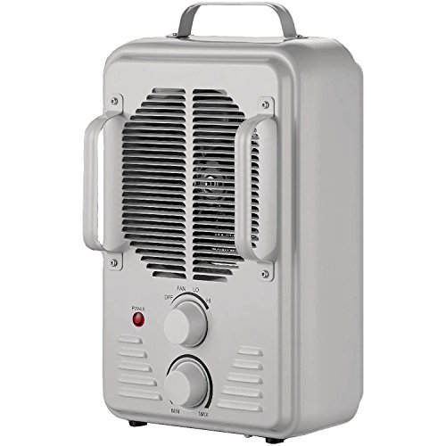 Brentwood H-F1500U 1500-Watt Portable Ceramic Space Heater and Fan, White BRENTWOOD Ceramic Heaters