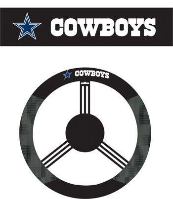 - Fremont Die 98503 Dallas Cowboys Poly-Suede Steering Wheel Cover