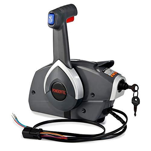 RUPSE Outboard Remote Control Box Throttle Shift for BRP Johnson Evinrude 5006180