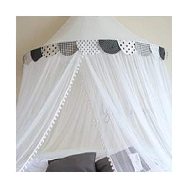 Bulawlly Letto a baldacchino di zanzara della Rete della Maglia Leggera, Chiffon mosqutio Net, Baby Coperta Letto per… 3 spesavip