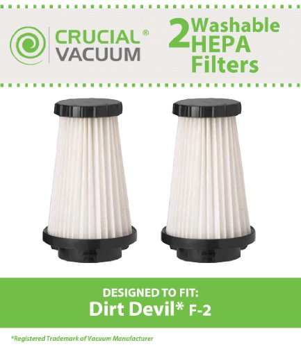 dirt devil f2 filter washable - 1