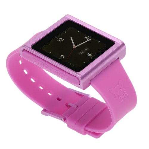 Film Holder Sheet (nanox - Apple iPod nano watch conversion kit (Pink Case / Pink Strap))