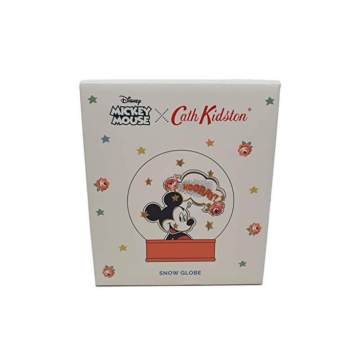 41%2Bbny3O1iL Bola de nieve Cath Kidston Disney edición limitada con Mickey Mouse Base roja con la marca Cath Kidston Disney. Interior con purpurina roja con Mickey Mouse.