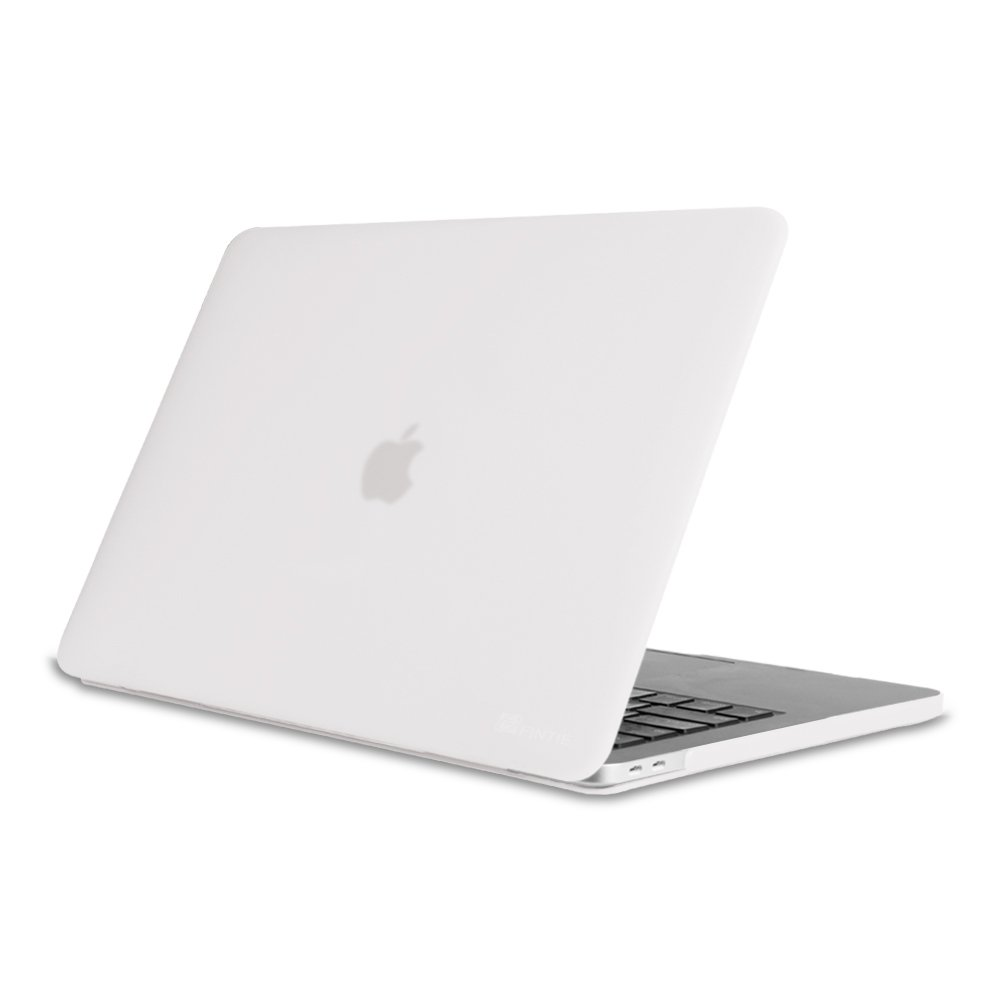 Fintie MacBook Pro 13 Case (2018 & 2017 & 2016 Release) - Protective Snap On Hard Shell Cover for Newest 13-inch MacBook Pro 13 A1989/A1706/A1708 with/Without Touch Bar and Touch ID, Crystal Clear
