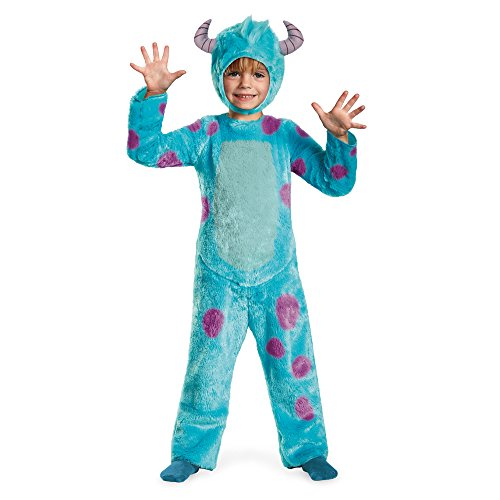Halloween Costume Sock Monster (Disney Pixar Monsters University Sulley Toddler Deluxe Costume,)