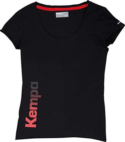 Kempa Damen T Shirt Statement, Schwarz, L, 200219402