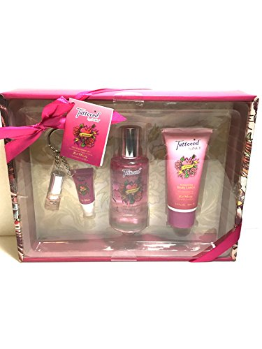 Tattoed by Inky Woman Gift Set Perfume, Body Lotion Lip GLos
