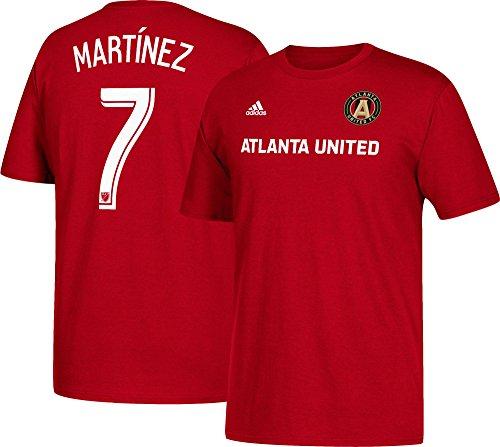 adidas Josef Martinez Atlanta United Men Player T-Shirt Red (Small)