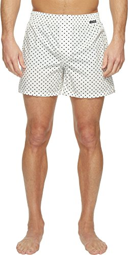 Dolce & Gabbana Men's Polka Dot Poplin Boxer Shorts White Underwear (Gabbana Dolce & Mens Underwear)