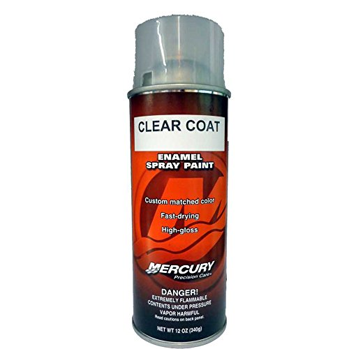 Mercury Precision Clear Coat Spray Paint 92-802878-53