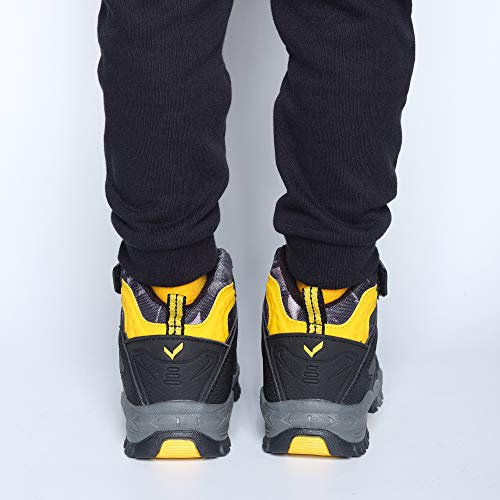 Pictures of Kid Hiking Boots Waterproof Thick Warm Snow 1