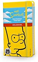 The Simpsons Notebook: Ruled, Black