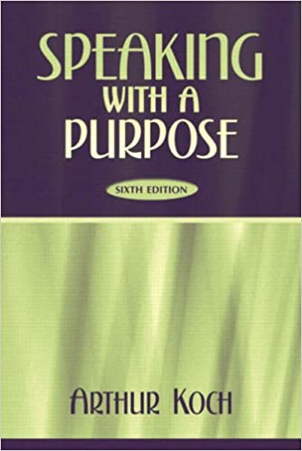Book Speaking with a Purpose
