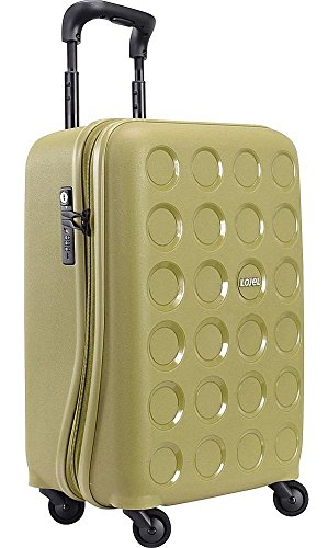 lojel-vita-small-carry-on-upright-spinner-olive-green