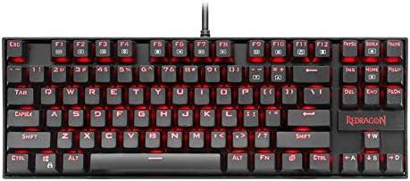 メカニカルキーボード87キー完全アンチゴーストゲーミングキーボードゲーマーとタイピストのためのキーキャッププーラーとアルミニウム金属パネル