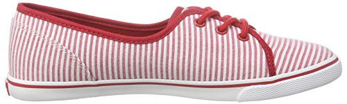 Tommy Hilfiger S1285m-kesha 11d1 - Zapatillas Mujer Rojo - Rot (TANGO RED 611)