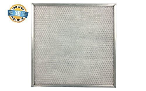 17- 1/2 x 23- 1/2 x 1 Electrostatic Washable Permanent A/C Silver Steel Frame