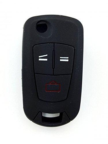INION® - Negro - 3 Botones Llave Carcasa de silicona Carcasa ...