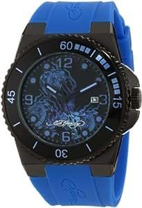 Ed Hardy Men's IM-SN Immersion Blue Watch