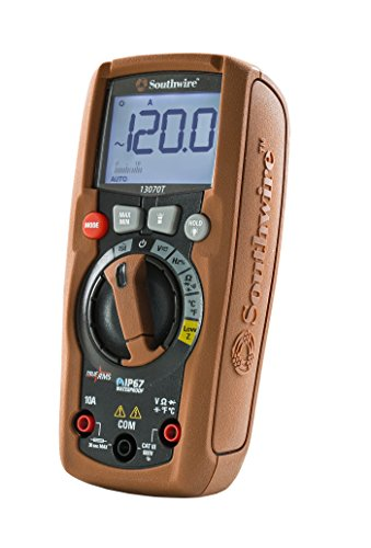 Southwire Tools & Equipment 13070T ResidentialPRO Auto-Ranging TrueRMS Digital Multimeter, 11 Measuring Functions by Southwire