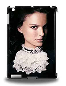 Ipad Premium Protective Hard 3D PC Case For Ipad Air Nice Design Natalie Portman American Female Nat The Professional V For Vendetta Black Swan ( Custom Picture iPhone 6, iPhone 6 PLUS, iPhone 5, iPhone 5S, iPhone 5C, iPhone 4, iPhone 4S,Galaxy S6,Galaxy S5,Galaxy S4,Galaxy S3,Note 3,iPad Mini-Mini 2,iPad Air )