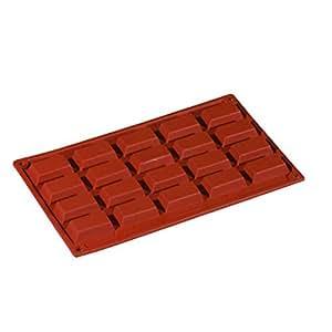 Baumalu hf3140 placa 16 moldes de silicona hogar - Moldes silicona amazon ...