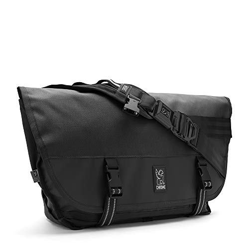 Chrome BG-002-ALLB Black One Size Citizen Messenger Bag Black Buckle