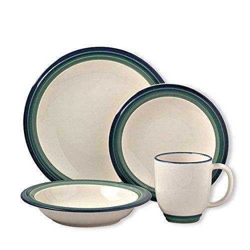 Pfaltzgraff Ocean Breeze 16-Piece Dinnerware Set (Service for (Pfaltzgraff Oven Safe Plates)