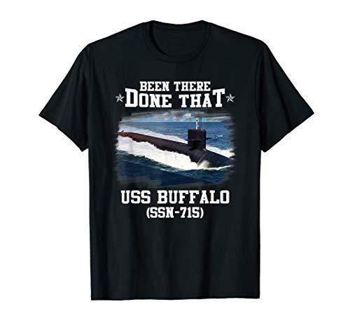 (USS Buffalo SSN-715 T-Shirt)