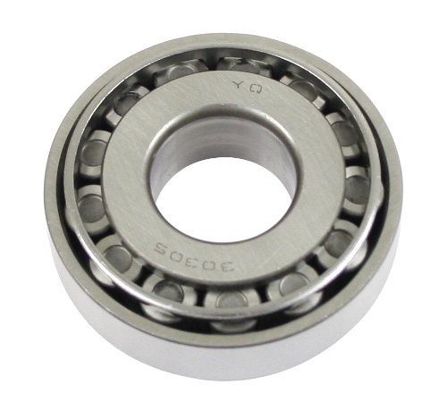 Empi Front Axle Assembly (EMPI 98-4626-B - Front Wheel Roller Bearing, VW TYPE 1 50-65, GHIA 56-65, Each)