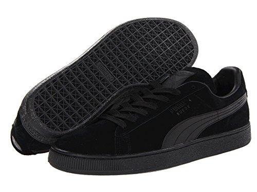 [PUMA(プーマ)] メンズランニングシューズ?スニーカー?靴 Suede Classic Black/Black Men's 12 (30cm) Medium
