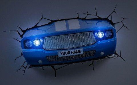 3d -deko- licht ~ ~ ~ ~ classic car sieht aus wie das auto durch ... - Kinderzimmer Deko Autos
