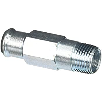"1//2/"" x 5//8/"" Plastic Coupler Fitting Dorman HVAC Heater Hose Connector"