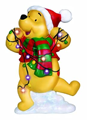 Precious Moments, Disney Showcase Collection, Winnie The Pooh, Resin Plaque, LED, 131707