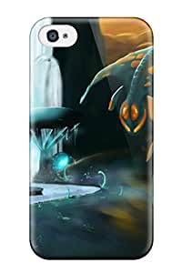 Iphone 4/4s Case Slim [ultra Fit] Alien Protective Case Cover 3161801K24458119