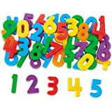 Colourful Fridge Magnets Counting Learning 1 2 3 Numbers STRONG MAGNETS MAGNETIC BABY LETTERS AND LARGE