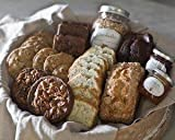 Sarabeth's Deluxe Gift Box - Loaf Cake, Cookies, Granola, Tarts, Brownies, and Spreadable Fruit - Pack of 2