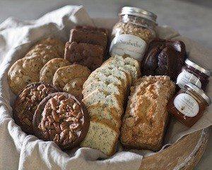 Sarabeth's Deluxe Gift Box - Loaf Cake, Cookies, Granola, Tarts, Brownies, and Spreadable Fruit - Pack of 3 by Sarabeth's