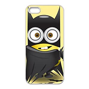 Red cloth lovely Minions Cell Phone Case for iPhone 5S