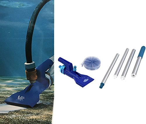 Happy Hot Tubs Swimming Pool Jet Vacuum With 4 Pole Sections Vac Section...