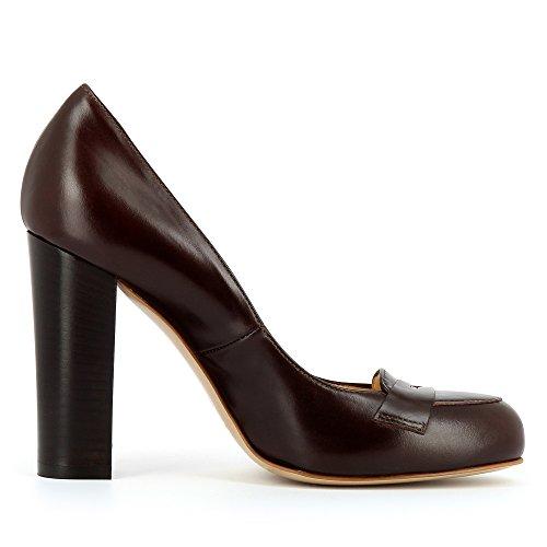 Evita Shoescristina Scarpe Donna Col Tacco Dunkelbraun rr1qfz