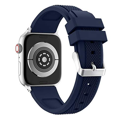 (Lyperkin Band,Compatible with Apple Watch Band Series 4 44mm,Adjustable Sports Soft Silicone Replacement Watch Band Strap Wristband Bracelet Compatible with Apple Watch Series 4.)