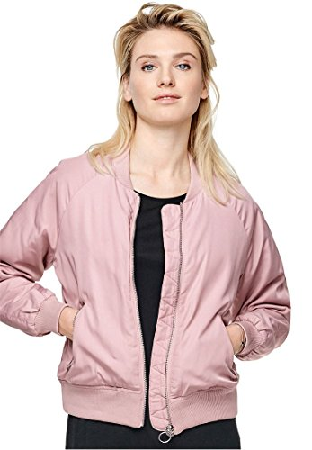 Mist Long Jacket - Ellos Women's Plus Size Bomber Jacket Rose Mist,20