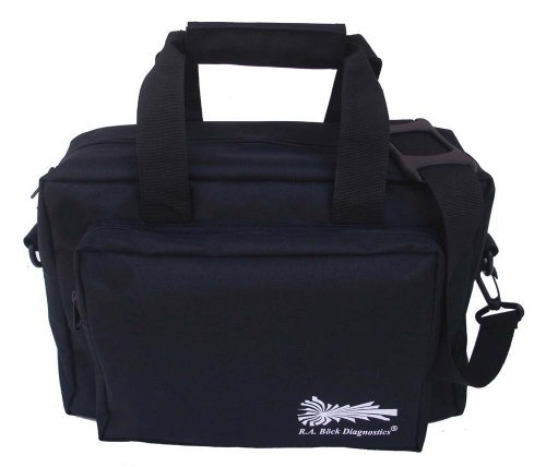 RA Bock Deluxe Nylon Dr Bag, Nurse Bag, EMT, Paramedic, Doctor (Adc Nylon Medical Bag)